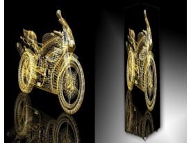 Ledlamp 1537, Motor, Goud, Zwart