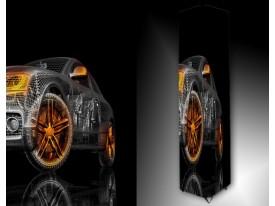 Ledlamp 1541, Auto, Zwart, Oranje, Grijs