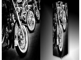 Ledlamp 1543, Motor, Zwart, Grijs, Wit