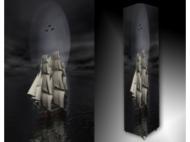 Ledlamp 1550, Boot, Grijs, Wit, Zwart