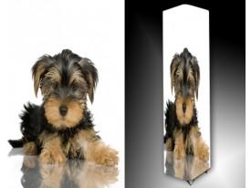 Ledlamp 1606, Hond, Zwart, Bruin, Wit