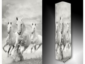 Ledlamp 1609, Paarden, Wit, Grijs