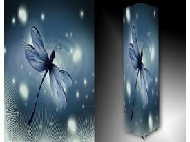 Ledlamp 1644, Libelle, Blauw, Grijs, Zwart