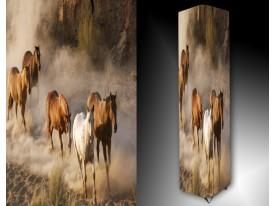Ledlamp 1664, Paarden, Wit, Bruin, Grijs