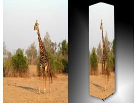 Ledlamp 1667, Giraffe, Groen, Bruin, Blauw