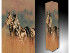 Ledlamp 1669, Zebra, Blauw, Zwart, Wit