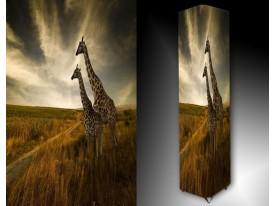 Ledlamp 1670, Giraffe, Groen, Bruin, Creme