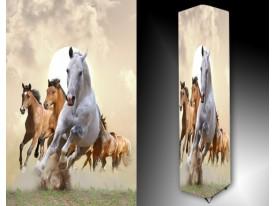 Ledlamp 1676, Paarden, Bruin, Wit, Grijs