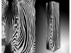 Ledlamp 1680, Zebra, Zwart, Wit, Grijs