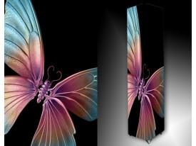 Ledlamp 1685, Vlinder, Blauw, Roze, Zwart
