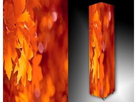 Ledlamp 19, Abstract, Oranje, Rood, Roze