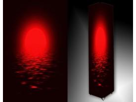 Ledlamp 191, Abstract, Zwart, Rood