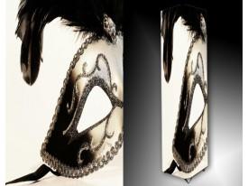 Ledlamp 213, Masker, Bruin, Zwart, Wit
