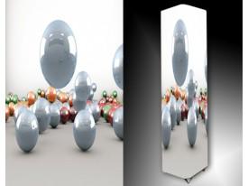 Ledlamp 222, Bal, Wit, Grijs, Oranje