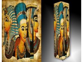 Ledlamp 236, Egypte, Blauw, Creme, Geel