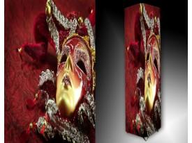 Ledlamp 243, Masker, Rood, Goud, Geel