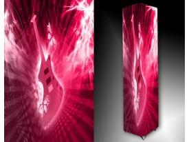 Ledlamp 244, Muziek, Roze, Paars, Wit