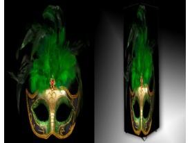 Ledlamp 255, Masker, Groen, Zwart, Creme