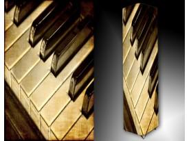 Ledlamp 264, Piano, Bruin, Creme, Zwart