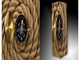 Ledlamp 271, Kompas, Geel, Grijs, Bruin