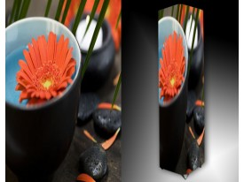 Ledlamp 330, Gerbera, Oranje, Blauw, Grijs