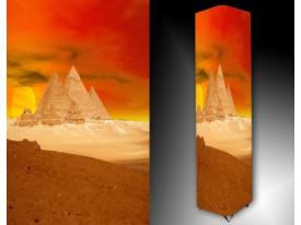 Ledlamp 389, Piramide, Oranje, Geel, Bruin