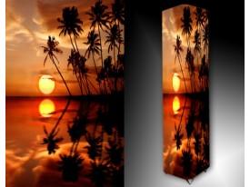 Ledlamp 404, Zonsondergang, Oranje, Geel, Zwart