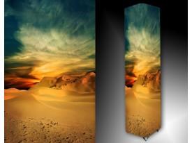 Ledlamp 406, Woestijn, Blauw, Geel, Creme