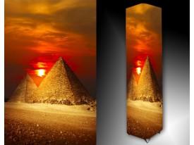 Ledlamp 418, Piramide, Geel, Oranje, Bruin