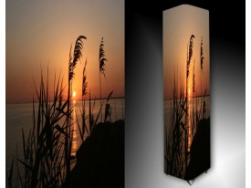 Ledlamp 435, Zonsondergang, Oranje, Blauw, Zwart