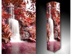 Ledlamp 444, Waterval, Rood, Roze, Wit