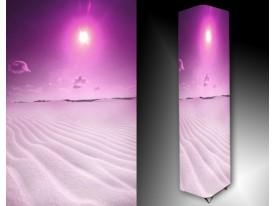 Ledlamp 456, Woestijn, Paars, Roze, Wit