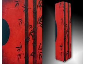 Ledlamp 46, Abstract, Rood, Zwart