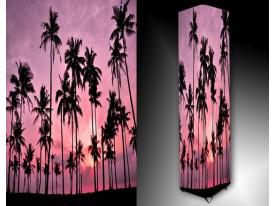 Ledlamp 461, Bomen, Roze, Paars, Zwart
