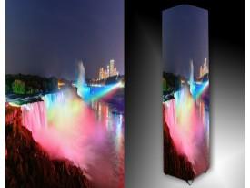 Ledlamp 465, Water, Rood, Roze, Blauw