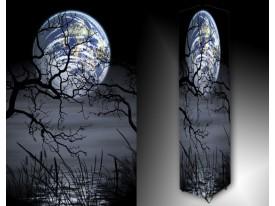 Ledlamp 474, Maan, Blauw, Grijs, Zwart