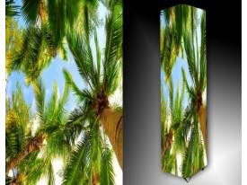 Ledlamp 549, Palmboom, Groen, Blauw, Bruin