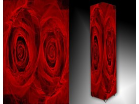 Ledlamp 59, Abstract, Rood, Zwart