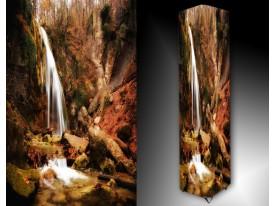 Ledlamp 615, Waterval, Bruin, Grijs, Groen