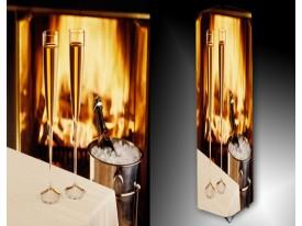 Ledlamp 626, Champagne, Geel, Oranje, Wit