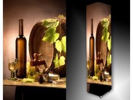 Ledlamp 661, Wijn, Groen, Bruin