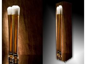 Ledlamp 694, Bier, Bruin, Geel, Wit