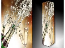 Ledlamp 695, Champagne, Groen, Bruin, Wit