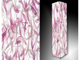 Ledlamp 7, Abstract, Roze, Paars, Wit