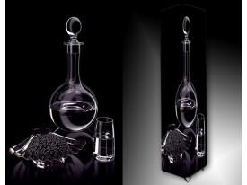 Ledlamp 700, Glas, Zwart, Grijs, Wit