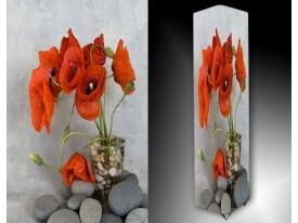 Ledlamp 915, Bloemen, Rood, Groen, Grijs