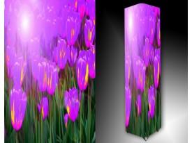 Ledlamp 999, Tulpen, Roze, Paars, Groen