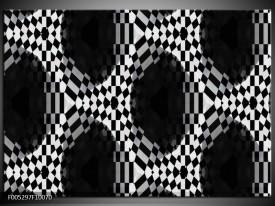 Glas schilderij Modern | Zwart, Wit, Grijs