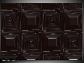 Foto canvas schilderij Modern | Zwart