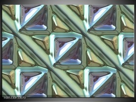 Glas schilderij Modern | Grijs, Groen, Wit